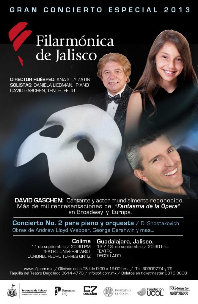 Gran Concierto Especial 2013 Filarmónica de Jalisco