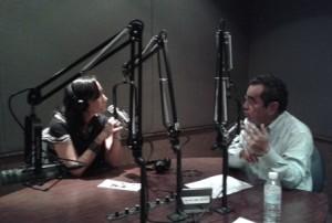 Entrevista en radio universidad
