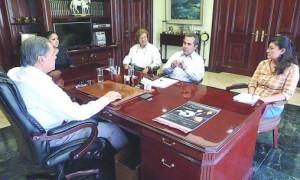Reunión con director Diario de Colima
