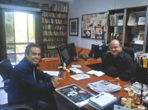 Reunión Fundación con Secretario de cultura