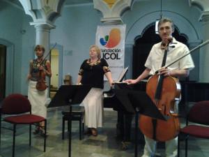 Trio en segundo concierto