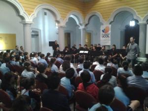Tercer concierto didáctico
