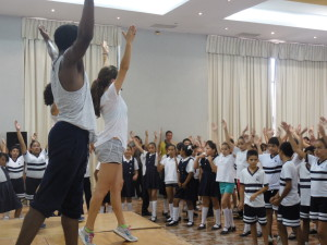 Clase de baile internacional