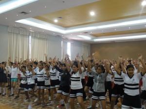 Clase de baile internacional 3