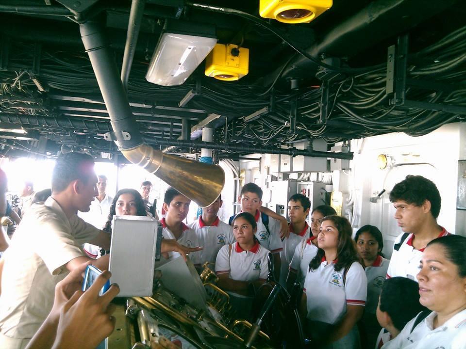 Segunda visita región naval