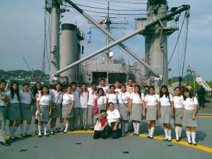 Segunda Visita región naval 3