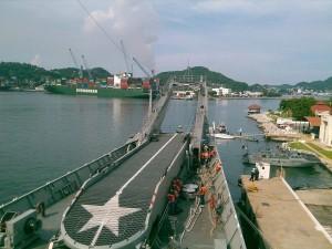 Segunda visita a la región naval 4
