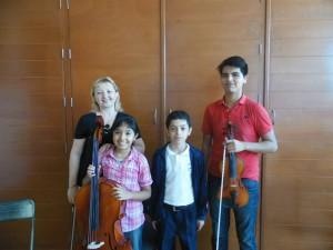 Primer concierto en IUBA2