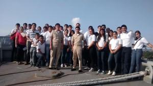 Visita Región Naval 22 de Sep