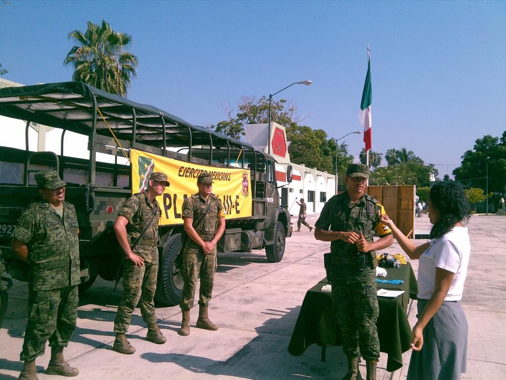 Segunda Visita Zona Militar