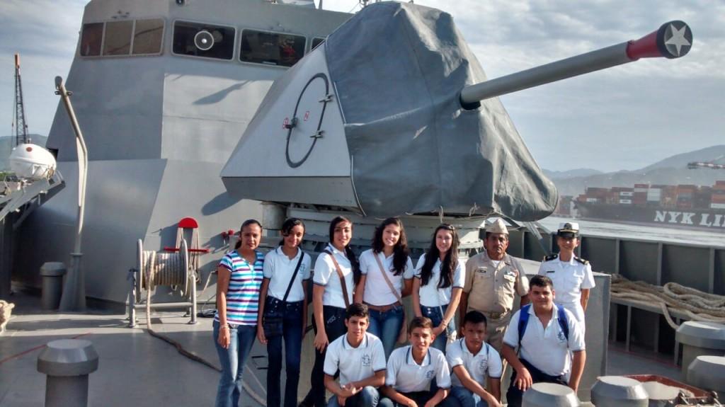 Visita Región Naval 6 Oct